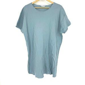 Hanro Nightgown Knit Cotton Sleep Shirt
